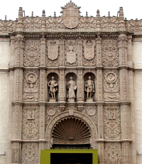 Decorative Cast Stone Reproduction for Balboa Park Museum of Art Entryway